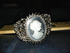 Cameo bracelet with hidden watch. for Sale in Everett, WA