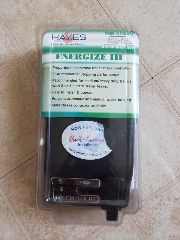 Hayes 81741B Energize III Electronic Tráiler Brake Controller