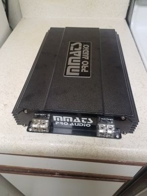 CAR AUDIO AMPLIFIER MMATS PRO AUDIO HD4000. 1D COMPETITION 4000 WATTS RMS LIKE NEW for Sale in Everett, WA
