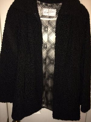 Beautiful Black coat!!! Heavy enough to keep you warm while going out dressed nicely or being casual!!! $25.00 or best offer!!! for Sale in Cinnaminson, NJ
