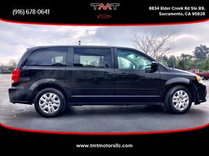 2016 Dodge Grand Caravan Passenger for Sale in Sacramento, CA