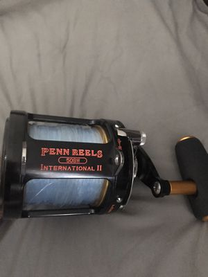 Penn reel 50sw for Sale in Norco, CA