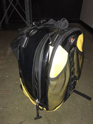 Waterproof camera backpack lowepro for Sale in Tacoma, WA