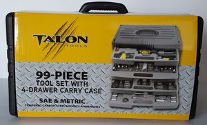 New! Talon Tools 99 Piece Tool Set & Carry Case for Sale in Moreno Valley, CA