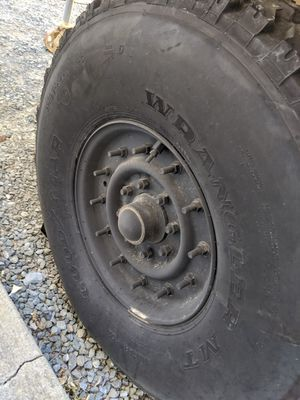 HMMWV wheels and tires Humvee wheels for Sale in Concord, CA