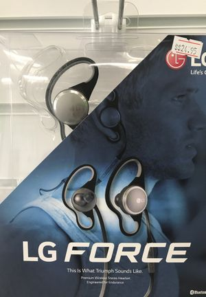 LG Force Bluetooth Headset for Sale in Las Vegas, NV