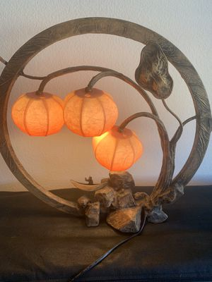 Beautiful Southeast Asian Lamp for Sale in Los Altos Hills, CA