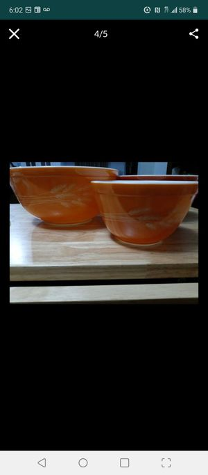 Pyrex vintage bowl set $28 will deliver for a small fee for Sale in Philadelphia, PA