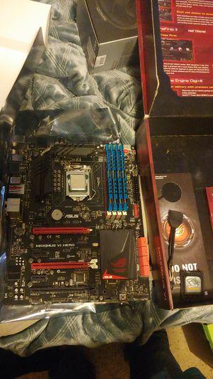 Maximus VI Hero i7-4770 3.4ghz DDR3-2400 16gb for Sale in Broomfield, CO