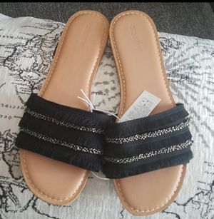 Textured slide sandles for Sale in Lithonia, GA