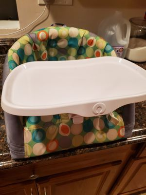 Baby Chair -Boppy (Green Marbles) for Sale in Adelphi, MD