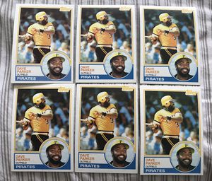 Lot of 6 Vintage Dave Parker Topps baseball cards for Sale in Chelmsford, MA