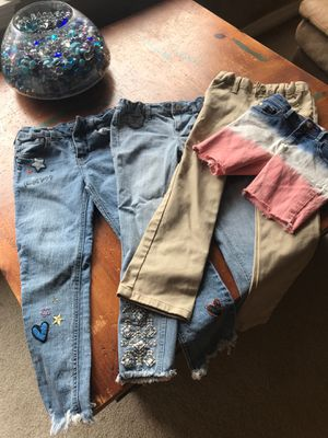 Girls size 6 jeans All items for 10.00. for Sale in Fort Worth, TX