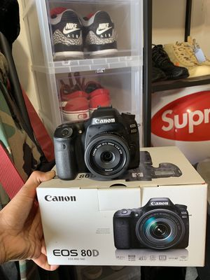 Canon 80D for Sale in Seattle, WA