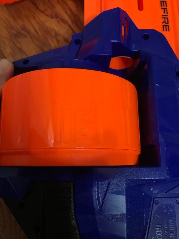 TOY Nerf Surgefire 15 round drum mag blaster