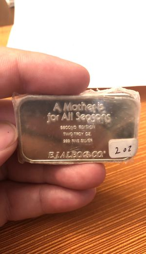 "RARE 2OZ SILVER BAR ""SUMMER"" A MOTHER IS FOR ALL SEASONS for Sale in San Antonio, TX"