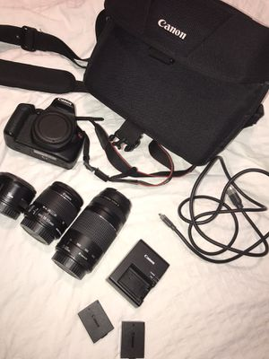 Canon EOS rebel t5 for Sale in San Leandro, CA