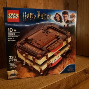 Lego 30628 Harry Potter Monster Book Of Monsters factory sealed for Sale in West Palm Beach, FL