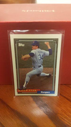 Nolan Ryan Baseball Card for Sale in Huachuca City, AZ