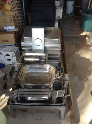Catering Chaffing Dishes and and Inserts for Sale in Tempe, AZ