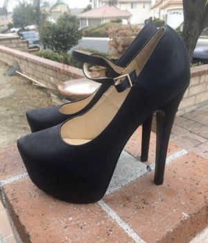 Black heels for Sale in Lake Elsinore, CA