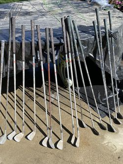 18 Different Irons Golf Clubs( Wilson , Tourney, Swing Rite Brands) $10 Each for Sale in Fresno,  CA