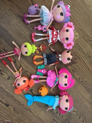 Lalaloopsy dolls with their pal for Sale in Burke, VA