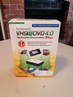 New Transfer VHS to DVD 4.0 plus for Sale in San Diego, CA