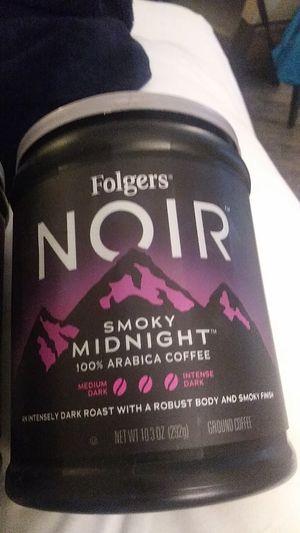 Folgers Noir Smoky midnight coffee for Sale in Lenexa, KS