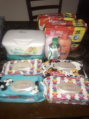 Diaper package size 3 all new items for Sale in Verona, PA