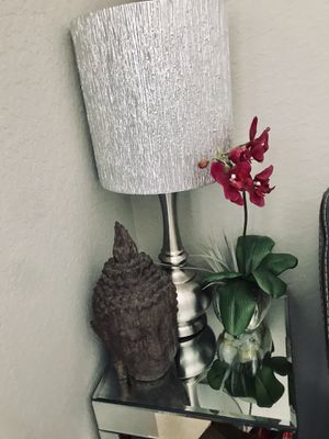Matching Silver Lamps for Sale in Princeton, FL