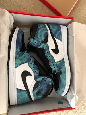 "Jordan Retro 1 High Og ""Tie Dye"" Size 11.5W / 10M for Sale in Gresham, OR"