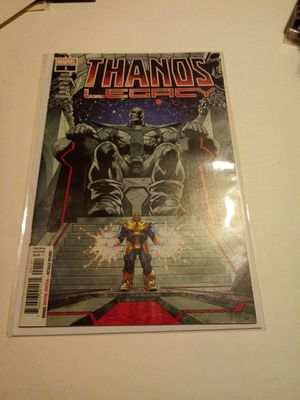Thanos legacy #1 comic books for Sale in Chicago, IL