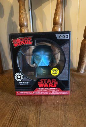 Funko Dorbz Vinyl Figure #003 - Darth Vader [Holo] - Disney Store Exclusive for Sale in Beavercreek, OR
