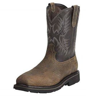 NEW Size 9.5 Wide Ariat Square Toe Steel Toe Puncture Work Boot for Sale in San Jose, CA