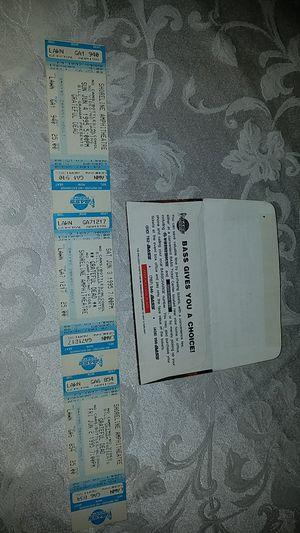 1995 grateful dead tickets excellent condition for Sale in Wellington, FL