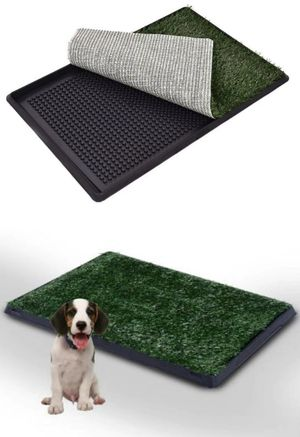New in box 30x20 inches pet dog puppy potty pee pee toilet training fake grass pad for Sale in Pico Rivera, CA