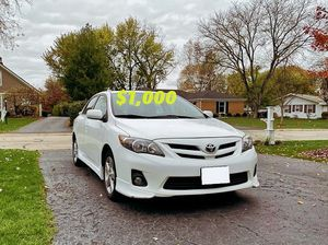 Price$1000 URGENT Selling my 2012 Toyota Corolla for Sale in Washington, DC