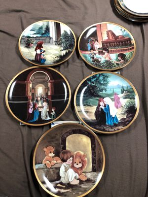 Precious moments favorite Old Testament Stories 10plate set for Sale in McKeesport, PA