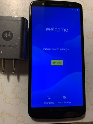 Universally unlocked Moto G6 for Sale in Boiling Springs, PA