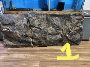Handmade paper background for 55 75 gallon fish tank aquarium for Sale in Everett, WA