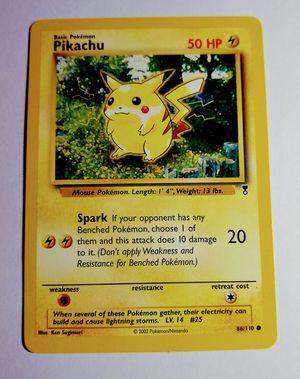 Legendary Collection Red Cheeks Pikachu Pokemon Card for Sale in Waynesboro, TN