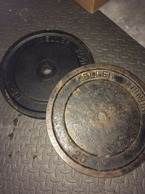 25 lb plates for Sale in Wesley Chapel, FL
