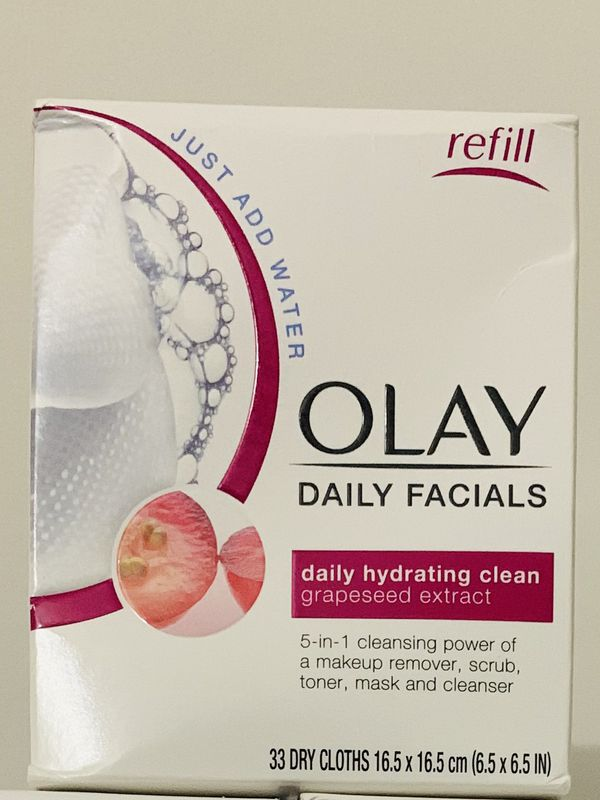 Olay Daily Facials ( 33 dry cloths )