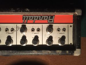 Vintage Randall mixer amp head $20 for Sale in Brooklyn, NY