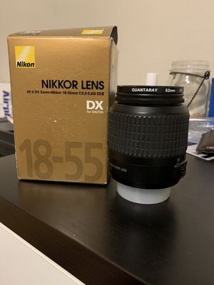 Nikon Lens 18-55mm 3.5-5.6 for Sale in Lathrop, CA
