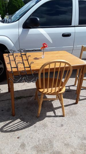small kitchen table and 1 chair for Sale in Fort Worth, TX