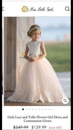 Flower girl dress for Sale in Salem, NH