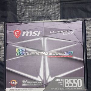 MSI B550i Gaming Edge WiFi for Sale in Fort Worth, TX
