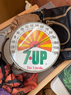 1960's 7UP thermometer for Sale in Syracuse, UT